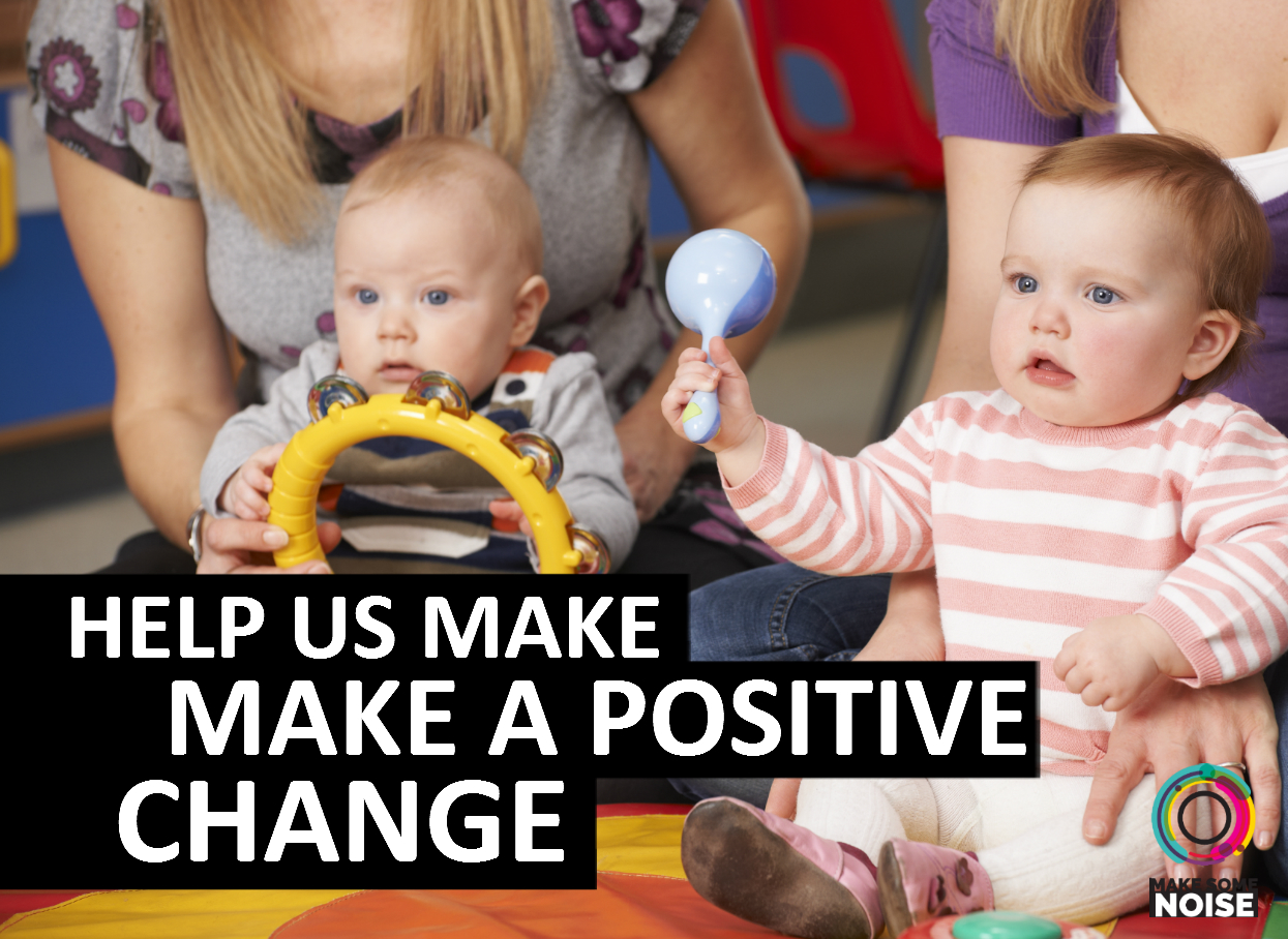 Help us to make a positive change